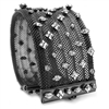 Barbara Cieslicki Jewelry Queen of Diamonds Hematite Urban Mesh Bracelet by Barbara Cieslicki