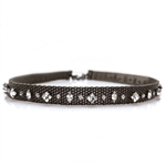 Barbara Cieslicki Jewelry Queen of Hearts Urban Mesh Choker by Barbara Cieslicki