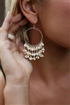 "Ivory Jacks Large ""Hannah"" Earrings"