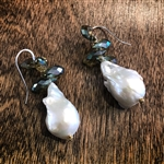 Mela Baroque Pearl Earrings