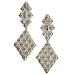 Sergio Gutierrez SG Liquid Metal Classic Mesh Earrings E16