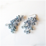 Mela Earrings FBLUETASSEL