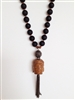 Black Buddha Necklace by Alyce Ross Designs