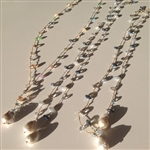 MELA Multicolor Crystal and Pearl Necklace