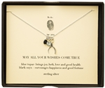 b.u. Jewelry May All Your Wishes Necklace