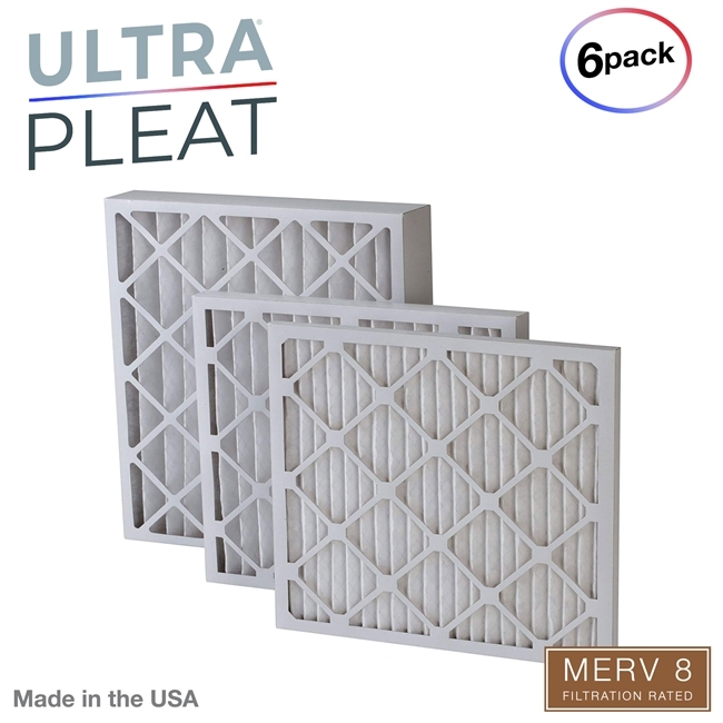 Nordic Pure 21x23/_1//4x1 Exact MERV 11 Pleated AC Furnace Air Filters 3 Pack
