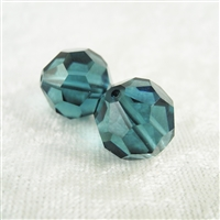 Vintage Crystal Bead - Montana - 14mm