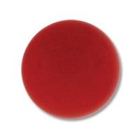 Czech Glass Cabochon - 18 mm round - 2 per package - Red Coral
