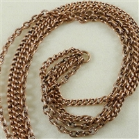 "Multi-Strand Chain, Copper-Oxide, 9"" length"