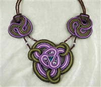 """Lilacs"" Necklace - #1081"