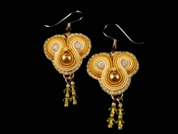 Lemon - Koala Earrings - #1545