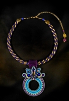 Wild Indigo - Necklace - #1596
