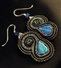 Midnight Arabian Nights - Earrings - #1694