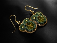 Anything Green is Mine - Earrings - #1698