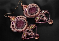 Lilac Sky - Earrings - #1700