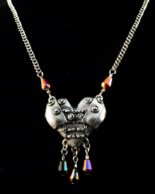 Armored Heart - Necklace - #1725