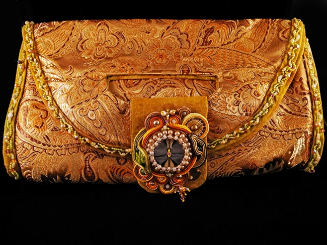 Gold Evening Bag - #646