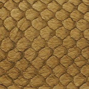 Fish Leather - Chestnut Suede