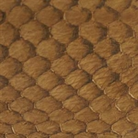 Fish Leather - Hazelnut Glossy