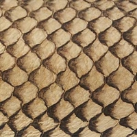 Fish Leather - Natural Suede