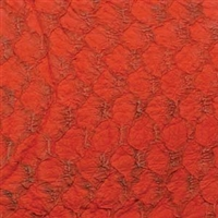Fish Leather - Red Suede
