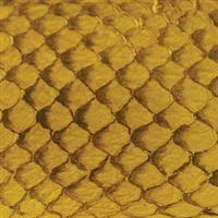 Fish Leather - Yellow Glossy