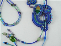 Soutache & Bead Embroidery - The Captivating Lariat Necklace