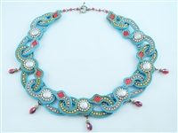 """Chain, Chain, Chain"" Soutache & Bead Embroidery Necklace Kit - a Trunk Show Favorite!"