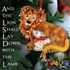 And the Lion Shall Lay Down with the Lamb - 2020 Ornament Kit