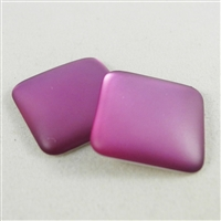 LunaSoft Cabochons - 2 per Package - Grape