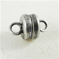 6mm magnetic clasp with Antique Silver finish.