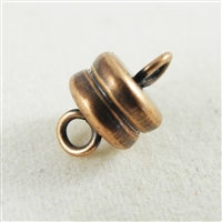 6mm magnetic clasp with Antique Copper finish.