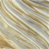 """Sand Castle"" silk Shibori Ribbon"