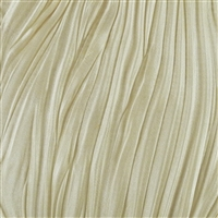 Shibori Silk Ribbon - Cream