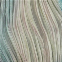 Shibori Silk Ribbon - Morning Mist
