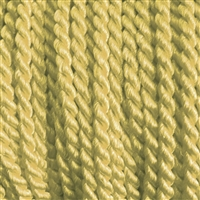 "1 yd. 2.5 mm Twisted Rayon Cord - color ""Roman Gold"""