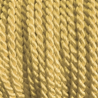 "1 yd. 2.5 mm Twisted Rayon Cord - color ""Old Gold"""
