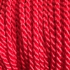 "1 yd. 2.5 mm Twisted Rayon Cord - color ""Red"""