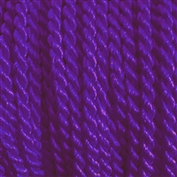 "1 yd. 2.5 mm Twisted Rayon Cord - color ""Purple"""