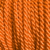 "1 yd. 2.5 mm Twisted Rayon Cord - color ""Orange"""