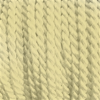 "1 yd. 2.5 mm Twisted Rayon Cord - color ""Natural"""