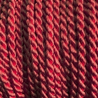 "1 yd. 2.5 mm Twisted Rayon Cord - color ""Maroon"""