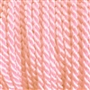 "1 yd. 2.5 mm Twisted Rayon Cord - color ""Light Pink"""