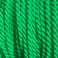 "1 yd. 2.5 mm Twisted Rayon Cord - color ""Kelly"""