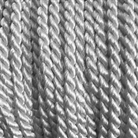 "1 yd. 2.5 mm Twisted Rayon Cord - color ""Gray"""