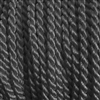"1 yd. 2.5 mm Twisted Rayon Cord - color ""Black"""