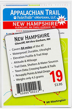 AT-19 Glencliff, NH thru Gorham, NH