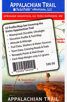 Appalachian Trail: 22, the Entire Trail Maps