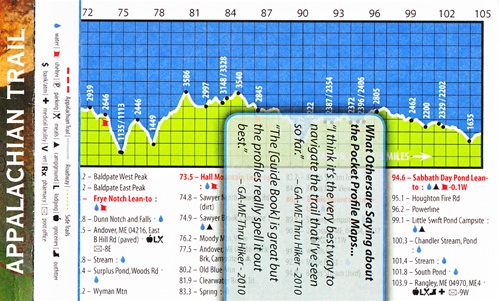 Appalachian Trail: 22 maps of the Entire Trail