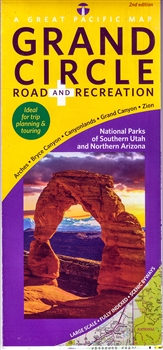 Grand Circle Road and Recreation Map